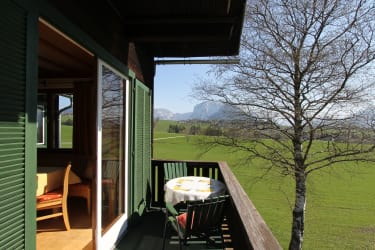 FW Trisselwand, Blick v. Balkon