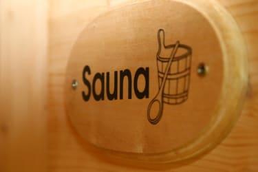Auch eine Sauna steht Ihnen zur Verfügung