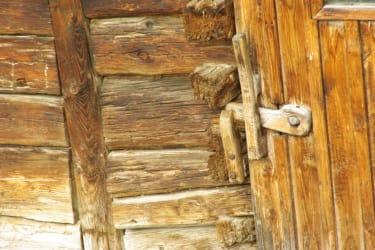 Eingangstür Stall