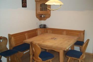 Küche Sitzecke Familienferienwohnung