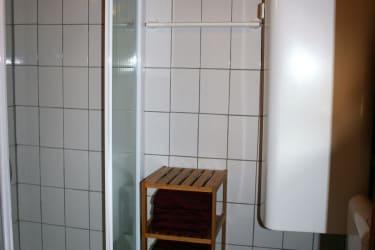 Badezimmer mit Toiolette