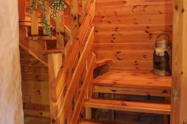 Stiegenaufgang zu den Zimmern