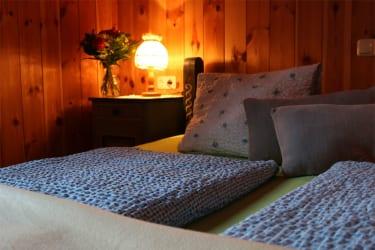 Schlafzimmer - Abendsonne