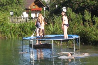 Wassertrampolin