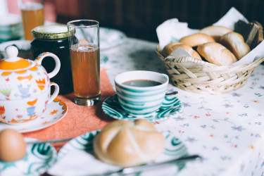 Kaffee, Tee, Saft und vieles mehr