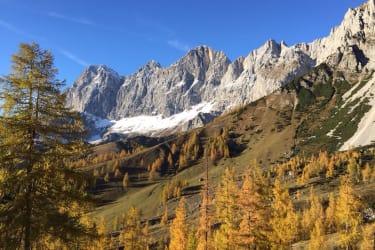 Dachstein Massiv im Herbst