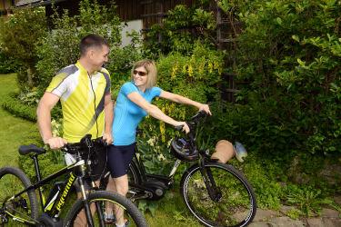 Mit dem E- Bike eine Runde drehen