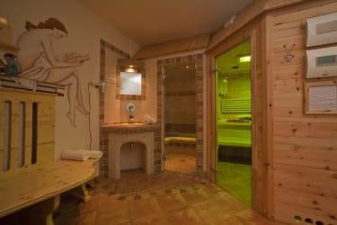 eigener Saunabereich