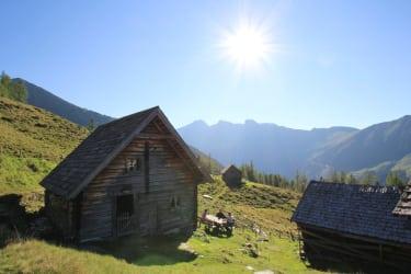 Blick auf die Bergwelt