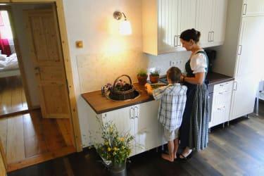 Küche Kräutergartl