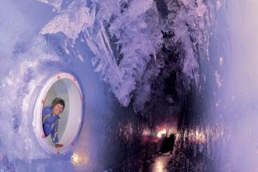 Gletscherspalte Dachstein