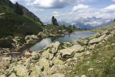 Ausflugsziel Spiegelsee Reiteralm