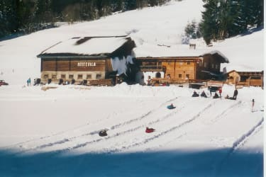 Rösteralm im Winter
