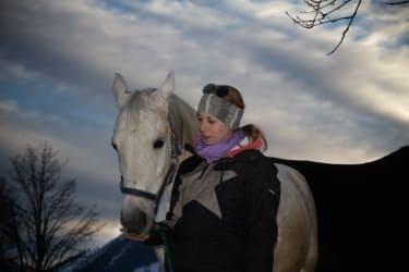 Anna und ihr Pferd