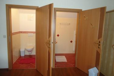 Badezimmer in der Wohnung