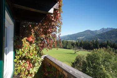 traumhafte Aussicht vom Balkon