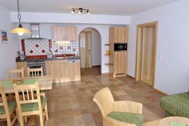 Küche Appartement Kulm
