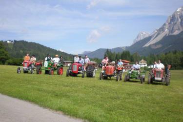 Traktorausfahrt