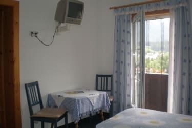 Schlafzimmer im Appartement