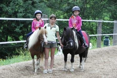 Ponyreiten macht Spass