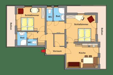 Appartement Typ B