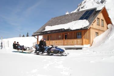 Gindlhütte Winter