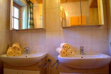 Badezimmer Lärchenhütte
