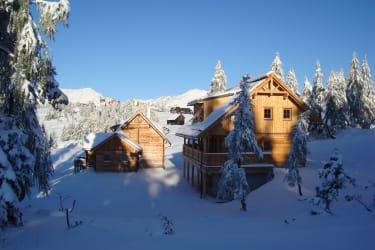 Lärchenhütte und Thomahofhütte