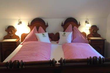 Schlafzimmer Obstgartenhaus