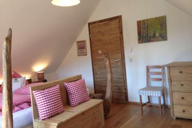 Obstgartenhaus Schlafzimmer