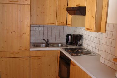 Ferienwohnung Grebenzen Küche