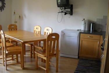 Wohnküche große Ferienwohnung