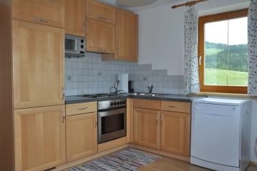 Ferienwohnung Zirbitz- Ihre Küche