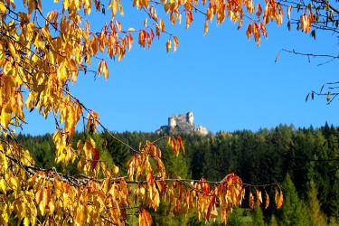 Herbst Bauernhof Sperl