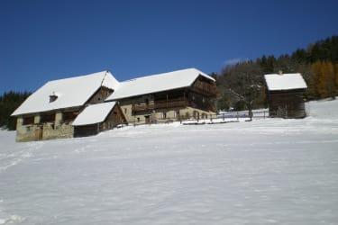 Winterlandschaft Prosihütte