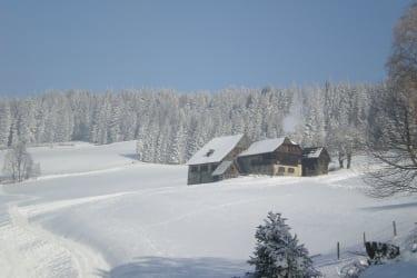 tiefster Winter bei der Prosihütte
