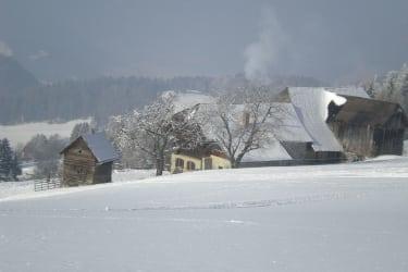 Prosihütte im Winter