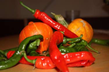 Spezialitäten des Gemüsegartens