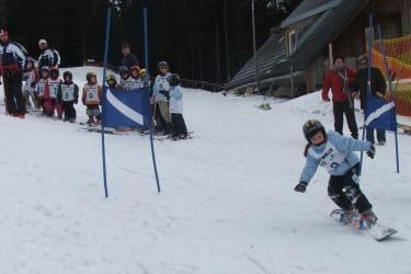 Snowboarden Tonnerhütte