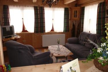 Hütte Susanna Wintergarten