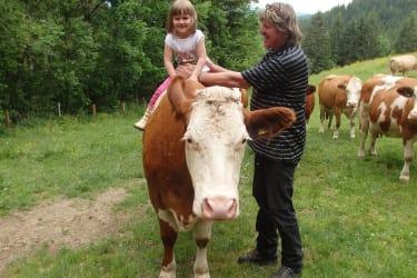 Helena, Bauer Manfred und Kuh Britt