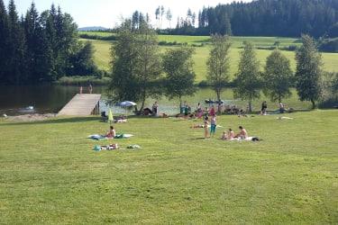 Badesee Mühlen Liegewiese