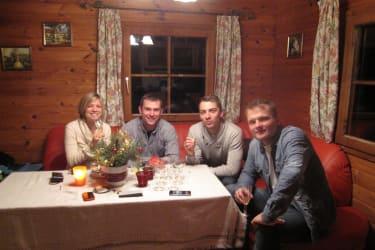 Dorferhütte - gemütliches Beisammensitzen