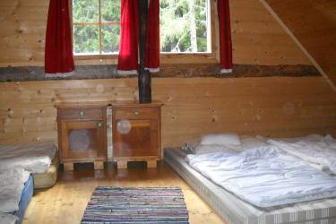 Schlafplatz /große Hütte