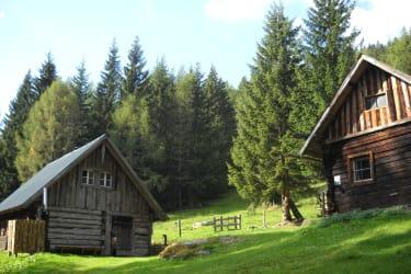Die große und die kleine Moar-Hütte