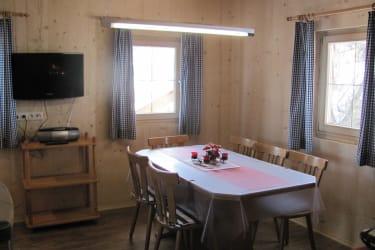 Sitzecke Küche Ferienhütte