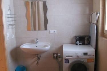 Waschraum Ferienhütte