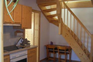 Stiegenaufgang zum Schlafzimmer