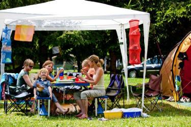 eigener Campingplatz Olachgut