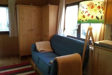 Unser kleines blaues Sofa